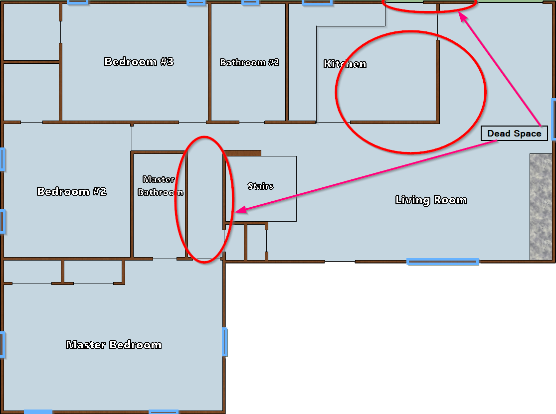 Shortcomings In Original Floorplan