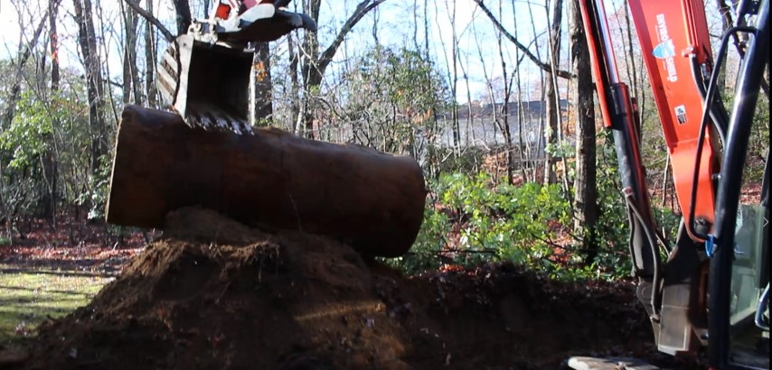 Dealing With A Buried Oil Tank